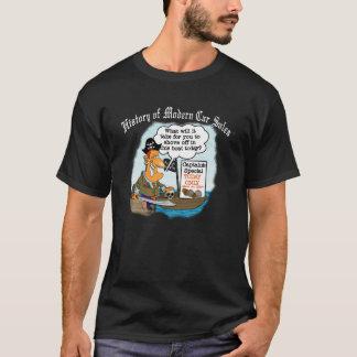 モダンな車の販売の歴史 Tシャツ