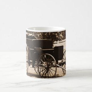 モダンな車輪 マジックマグカップ