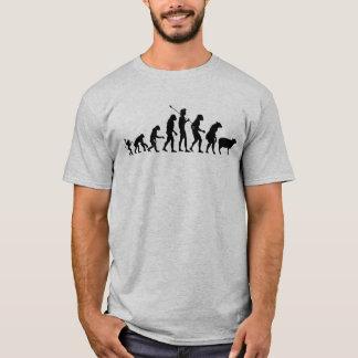 モダンな進化のワイシャツ Tシャツ