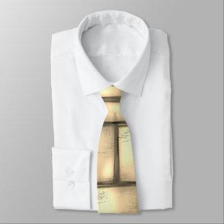 モダンな金ゴールドまたは黄色かベージュ首のタイのエレガントなユニーク オリジナルネクタイ