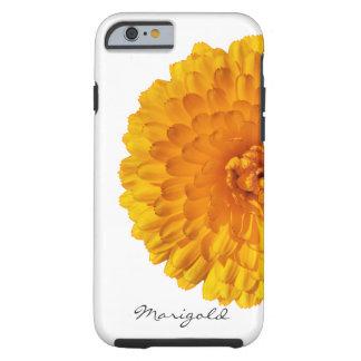 モダンな金黄色いマリーゴールドの花 ケース