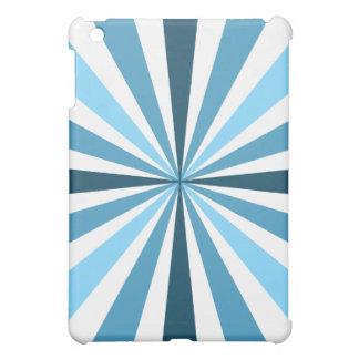 モダンな青い縞 iPad MINIカバー