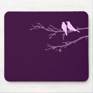 モダンな鳥 マウスパッド