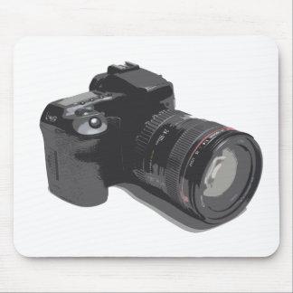 モダンなDSLRのカメラの写真 マウスパッド
