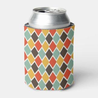 モダンなikatの種族のファッションパターン 缶クーラー