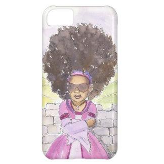 モダンなRapunzelのアフリカのiphoneの場合 iPhone5Cケース