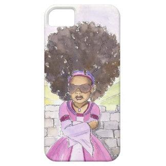 モダンなRapunzelのアフリカのiphoneの場合 iPhone SE/5/5s ケース