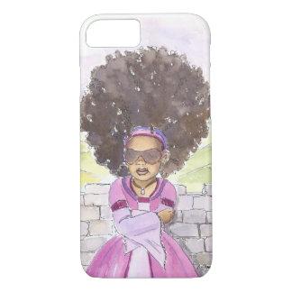 モダンなRapunzelのアフリカのiPhone 7の場合 iPhone 8/7ケース