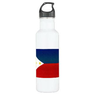 モダンによって除去されるフィリピンの旗 ウォーターボトル