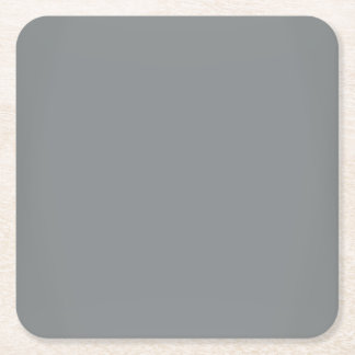 モダンのお洒落な銀製のカスタマイズ可能 スクエアペーパーコースター
