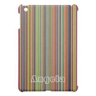 モダンのストライプなiPadの場合 iPad Mini Case
