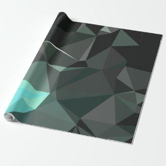 モダンの抽象的で幾何学的なパターン-畏怖のカテドラル ラッピングペーパー