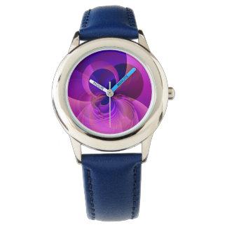 モダンの抽象的な子供のNumberless腕時計 腕時計