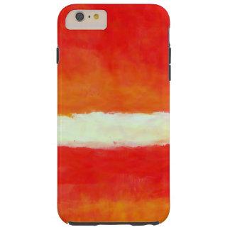 モダンの抽象的なRothkoのスタイルのiPhone 6のプラスの場合 iPhone 6 Plus タフケース
