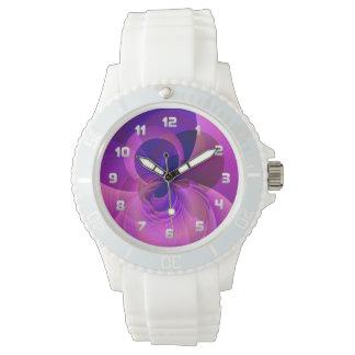 モダンの抽象芸術の腕時計 腕時計