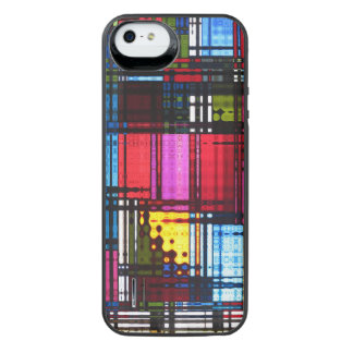 モダンの抽象芸術 iPhone SE/5/5sバッテリーケース