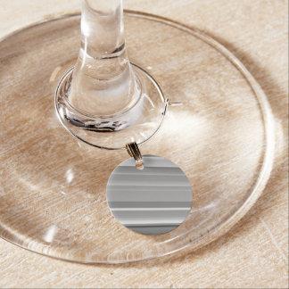 モダンは縞で飾ります ワインチャーム