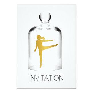 モダンダンスのナイトクラブのパーティVipの招待状 カード