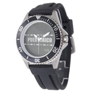 モダン: 灰色: プエルトリコ 腕時計