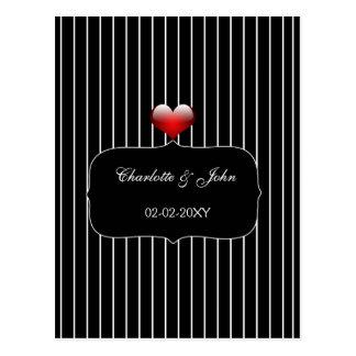 モダン|黒|結婚|rsvp|カード