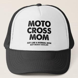 モトクロスのお母さんのおもしろいな土のバイクの球の帽子の帽子 キャップ