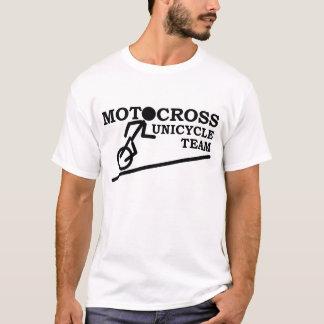 モトクロスのワイシャツ-モトクロスの一輪車のチーム Tシャツ