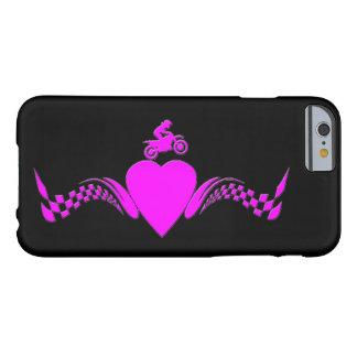 モトクロスの女の子のハート BARELY THERE iPhone 6 ケース