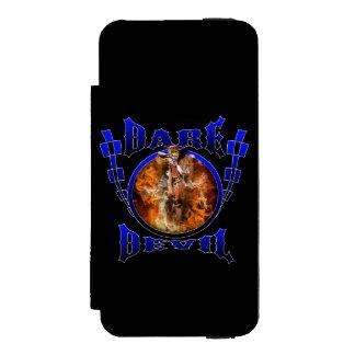 モトクロスの挑戦の悪魔 INCIPIO WATSON™ iPhone 5 ウォレット ケース
