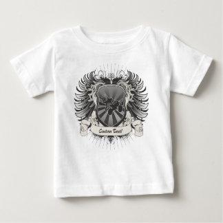 モトクロスの発育阻害の頂上 ベビーTシャツ
