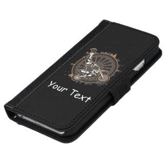 モトクロスの発育阻害 iPhone 6/6S ウォレットケース