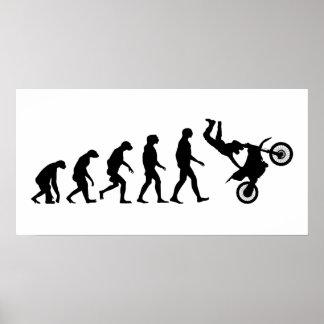 モトクロスの進化 ポスター