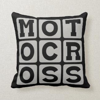 モトクロス、オートバイのスポーツ クッション