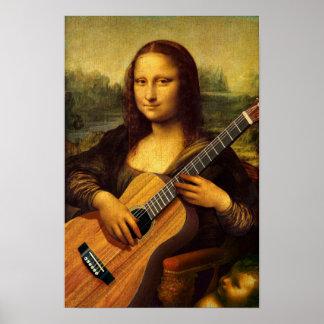 モナのギター ポスター