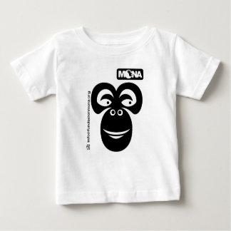 モナの幼児Tシャツ ベビーTシャツ