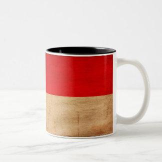 モナコの旗のマグ ツートーンマグカップ