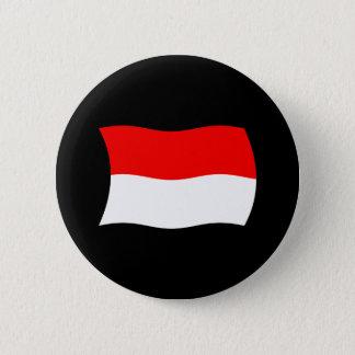モナコの旗ボタン 5.7CM 丸型バッジ