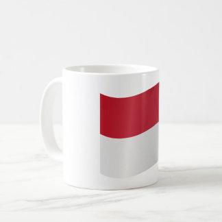 モナコの旗 コーヒーマグカップ