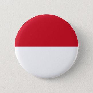 モナコの旗 5.7CM 丸型バッジ