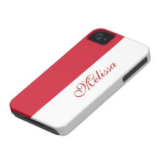 モナコの旗 Case-Mate iPhone 4 ケース