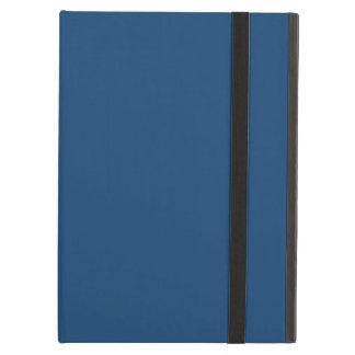 モナコの無地のな青 iPad AIRケース