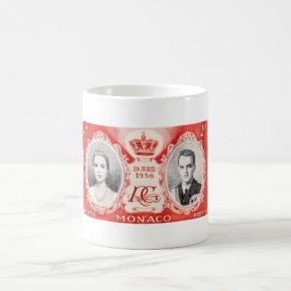 モナコの皇族の切手のマグ コーヒーマグカップ