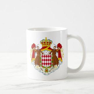 モナコの紋章付き外衣 コーヒーマグカップ