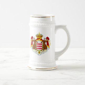 モナコの紋章付き外衣 ビールジョッキ