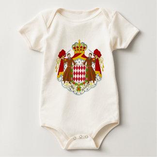 モナコの紋章付き外衣 ベビーボディスーツ