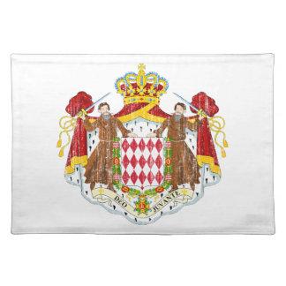 モナコの紋章付き外衣 ランチョンマット
