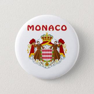 モナコの紋章付き外衣 5.7CM 丸型バッジ