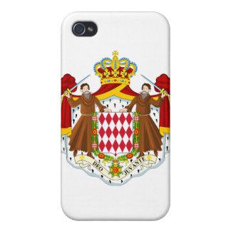 モナコの紋章付き外衣 iPhone 4/4Sケース