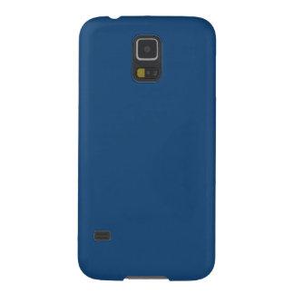 モナコの青の無地のSamsungの銀河系S5の箱 Galaxy S5 ケース