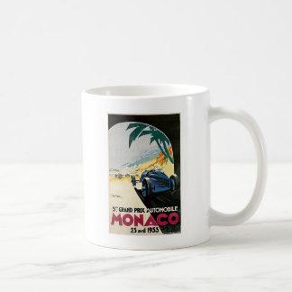 モナコグランプリの自動車 コーヒーマグカップ