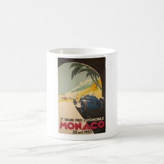 モナコグランプリポスター コーヒーマグカップ